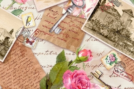 Vintage-Collage---cards-&-stationery
